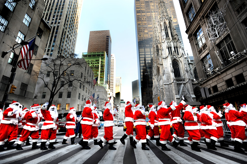 Merry christmas pdn photo of the day for Christmas day in new york