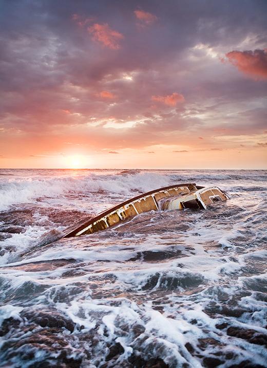 """Last Voyage of the Cúlin"" Photograph by Ryan Heffernan"