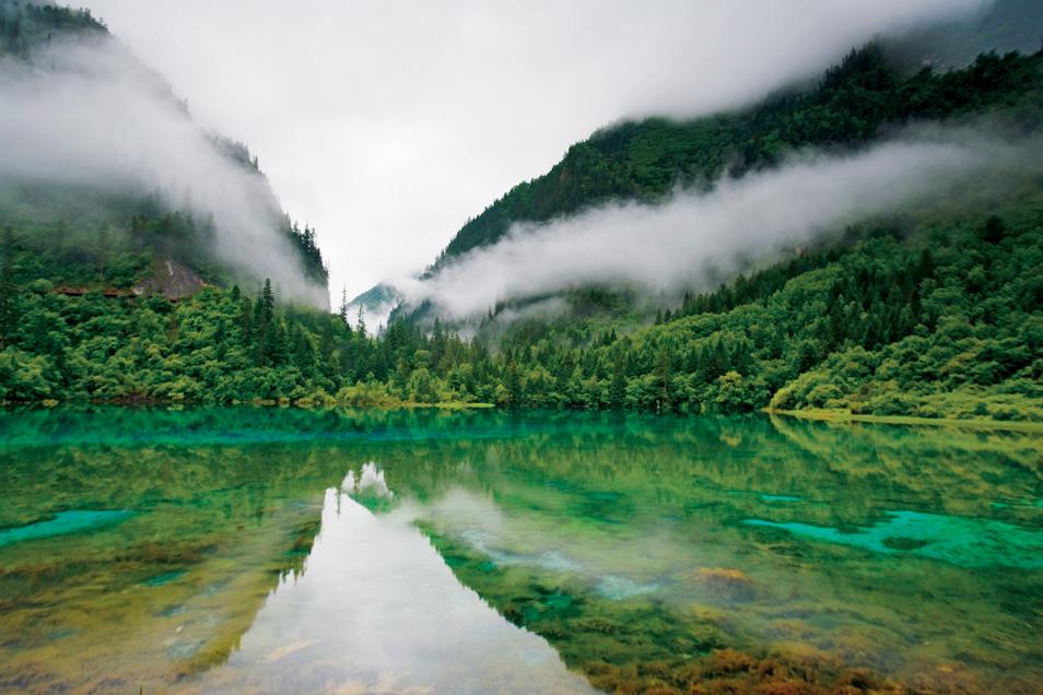 Jiuzhaigou Reserve, Sichuan Province, China