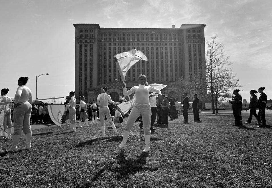 Parade, Detroit. March, 2009
