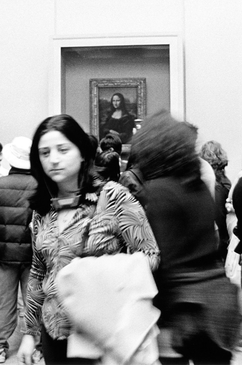 Mona Lisa at the Mona Lisa