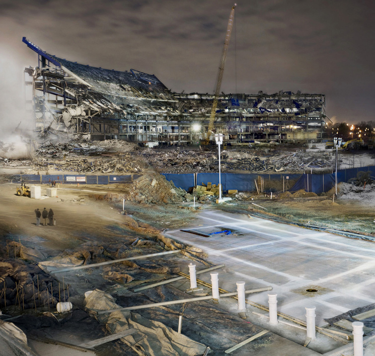 Deconstruction #3 (Shea Stadium)