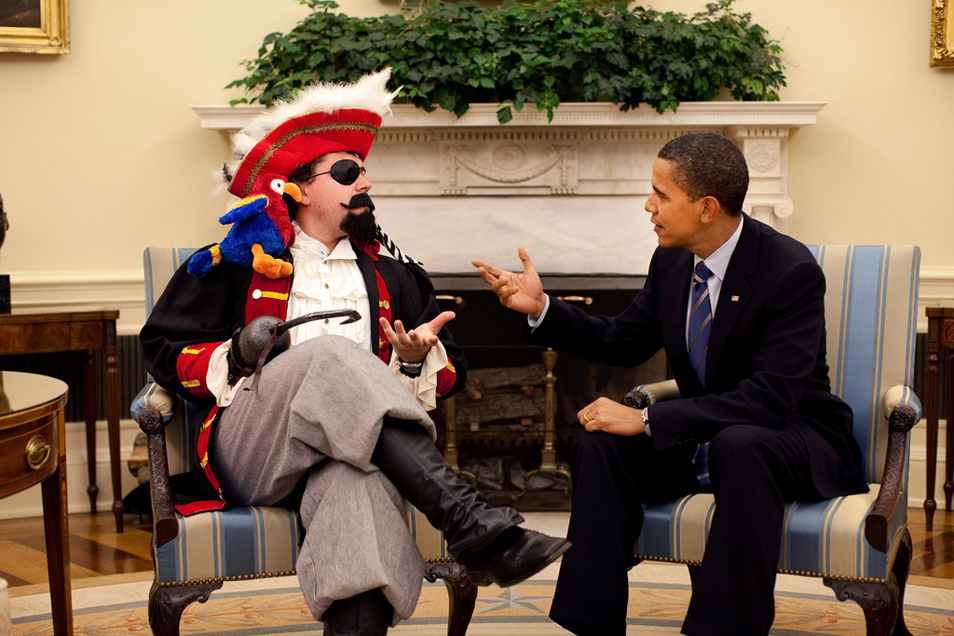 The president and the pirate