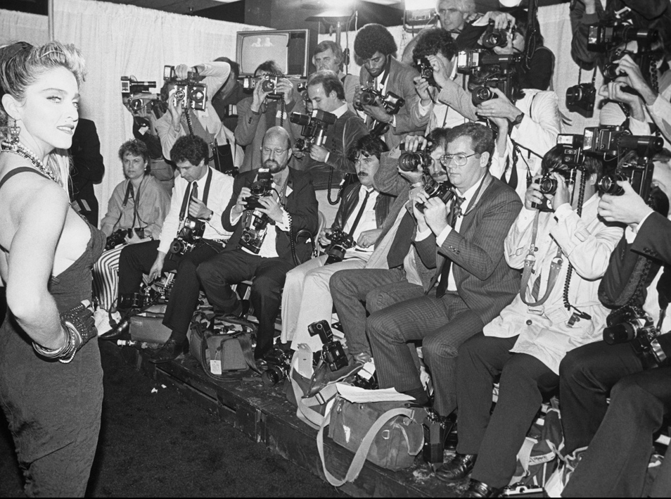Madonna Meets The Press 1980
