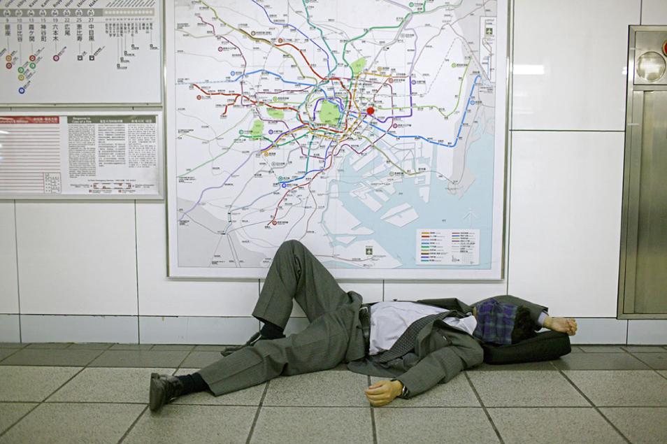Drunk in Tokyo