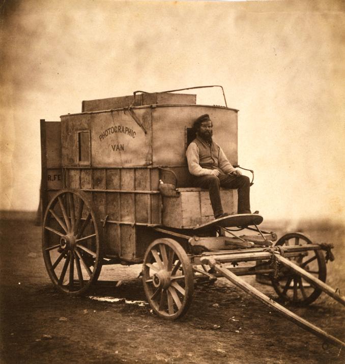 Roger Fenton's Photographic Van, 1855