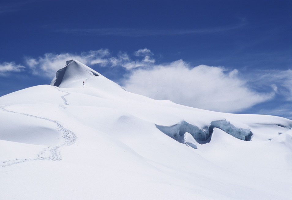 At the Glacier's Edge in a Lost Colombia