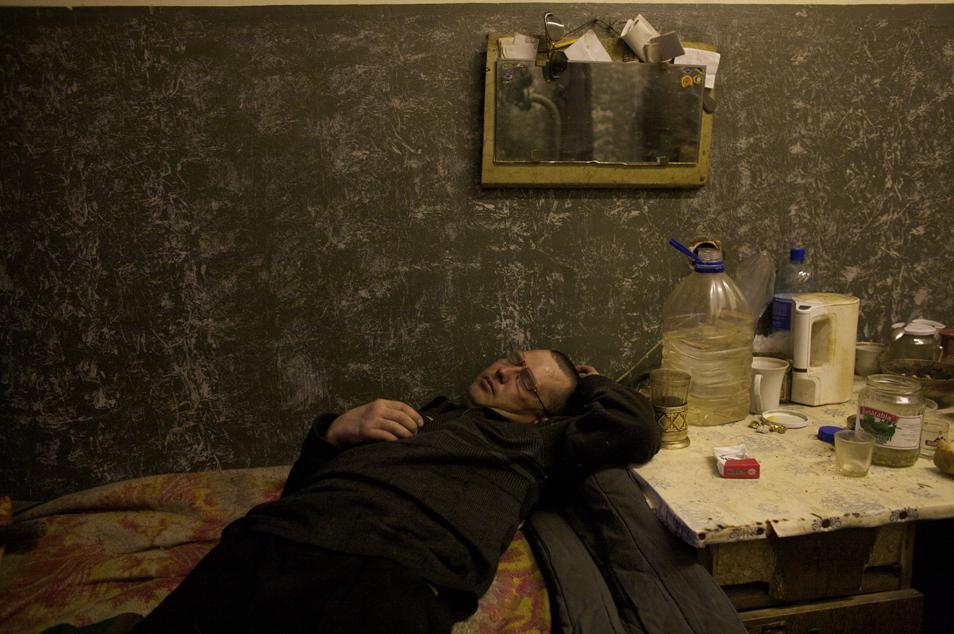 Sleeping it Off, Inta, Komi Republic, Russia