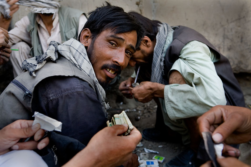 Afghanistan's Addicts