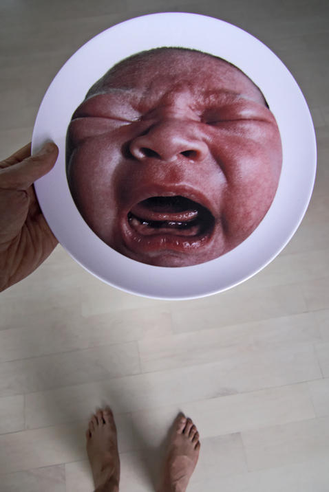 Screaming Loulou Plate
