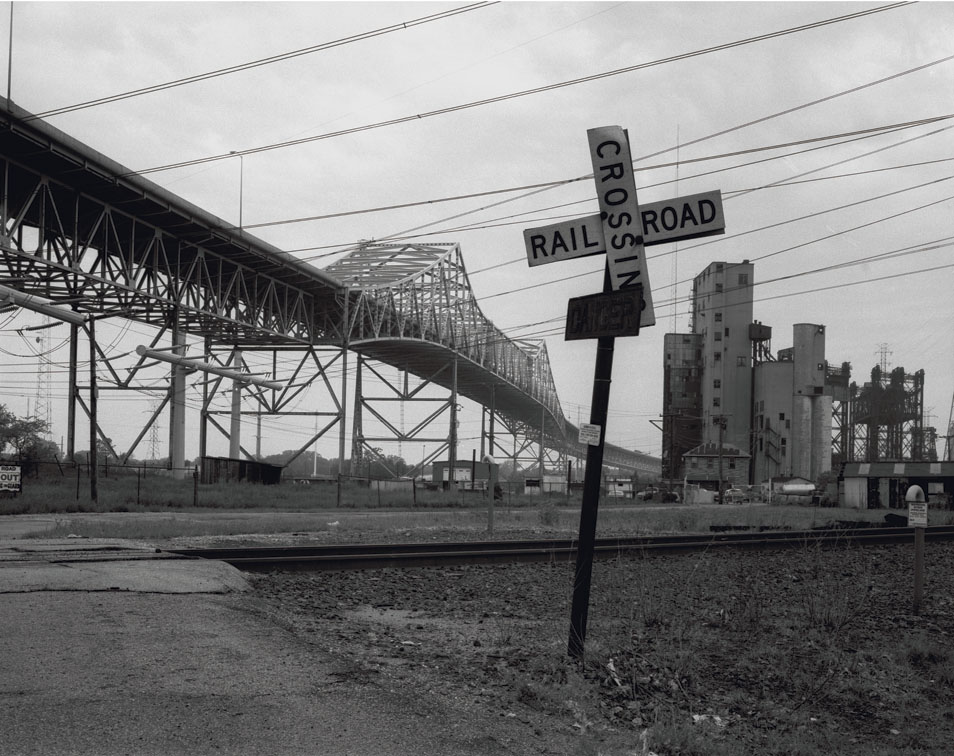 Chicago Skyway, View From 99th Street, Chicago 2001