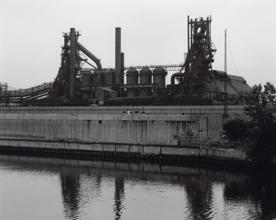 Dormant Blast Furnace, Indiana Harbor Canal East Chicago 2002