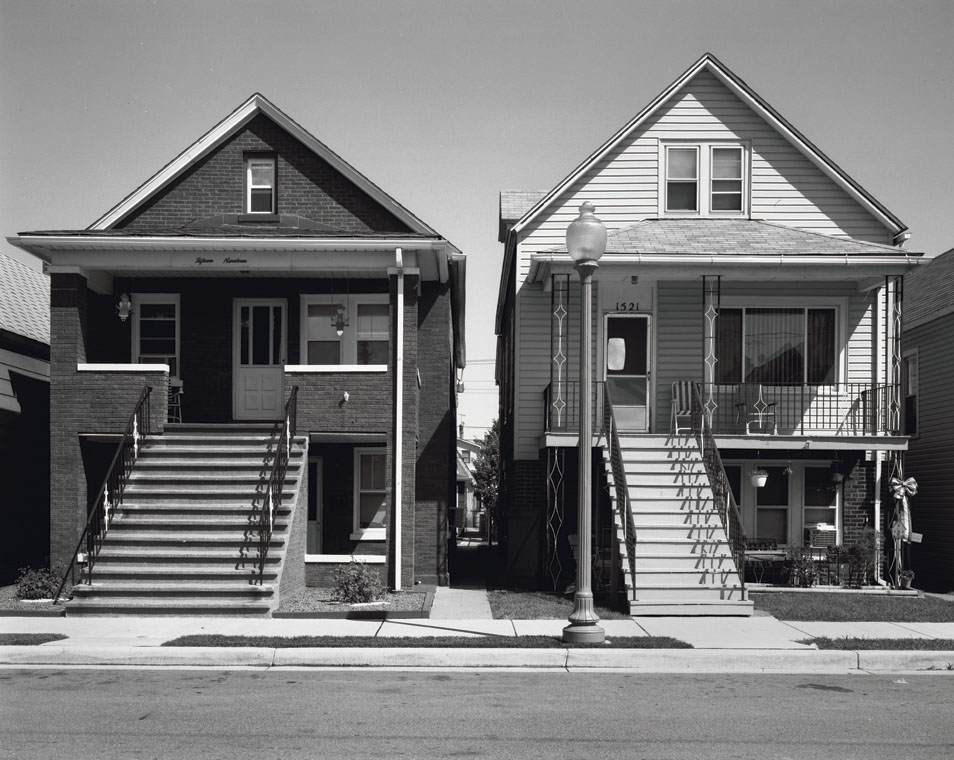 Two Houses, Steiber Street Whiting, IN 1999