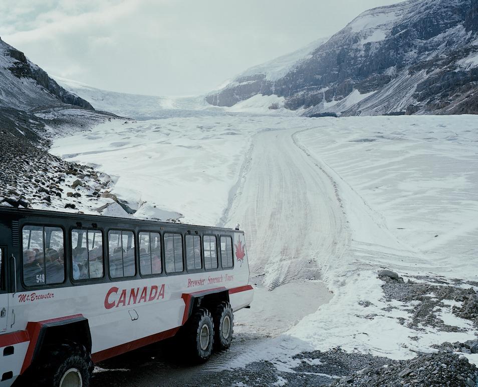 Andrew Querner on Athabasca Glacier (6 Photos)