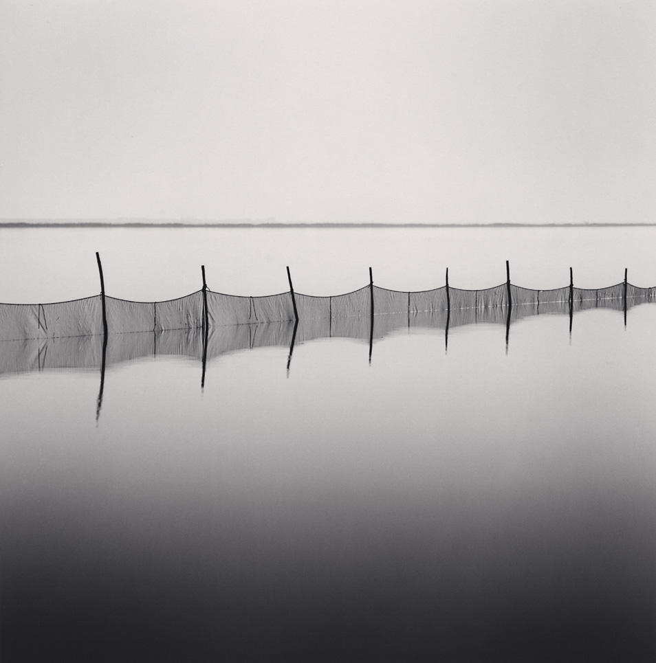 Michael Kenna's Fishnet Meditation