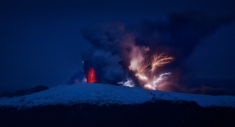 Volcanic Eruption in Iceland (3 photos)