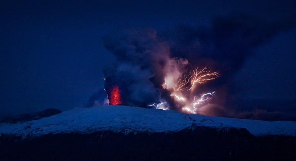 Volcanic Eruption in Iceland (3 photos)