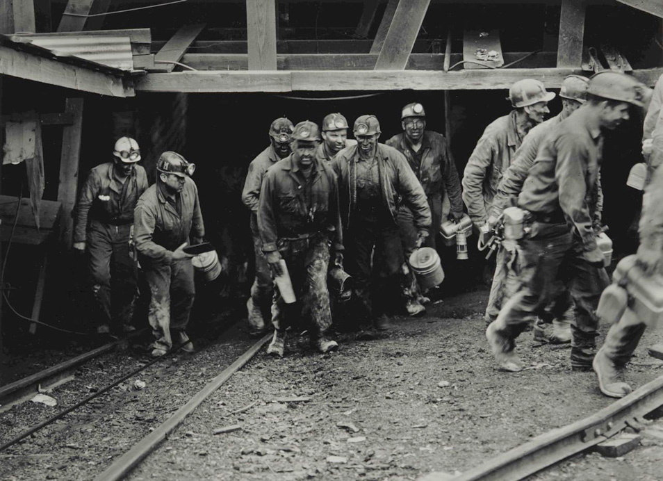 Builder Levy: Coal Miners in Appalachia