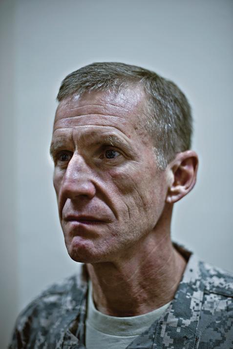 A portrait of General Stanley A. McChrystal.