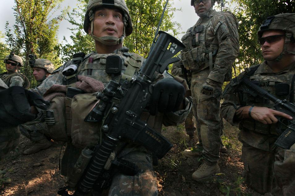 U.S. Casualties in the Arghanab Valley (7 photos)