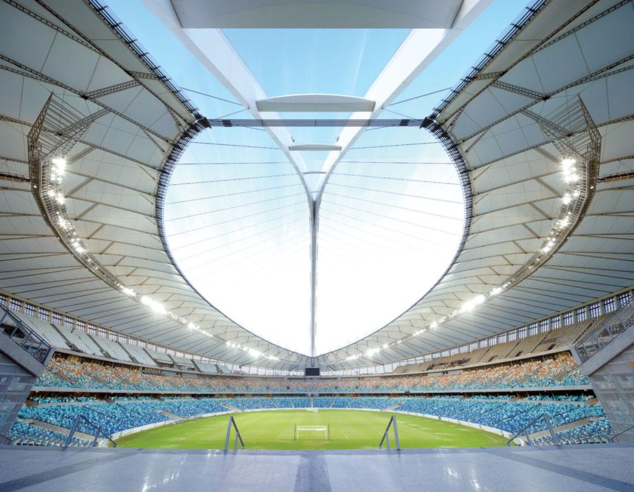 World Cup Stadium Spectacular (6 photos)