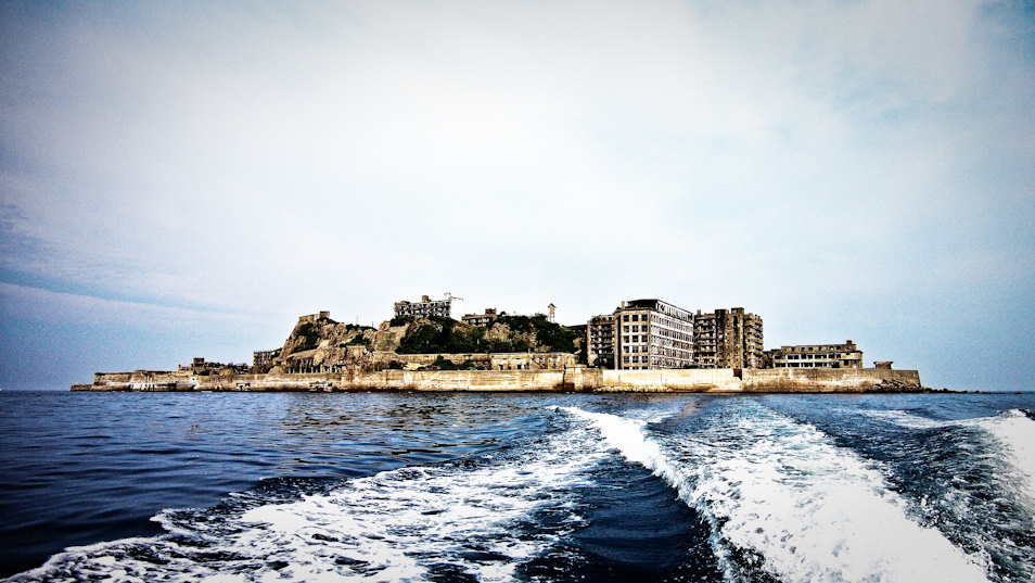 Forbidden Battleship Island (5 Photos)