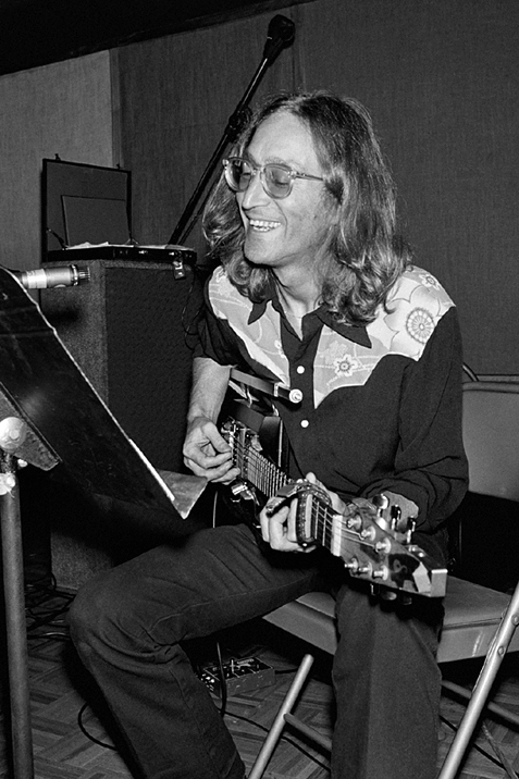 John Lennon at Work, 1980
