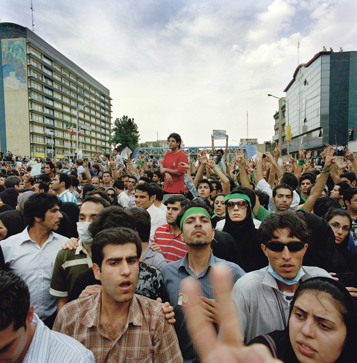 Iran's Green Revolutionaries (3 Photos)