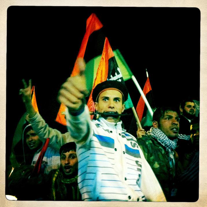 Ben Lowy Views Libya through iPhone (12 Photos)