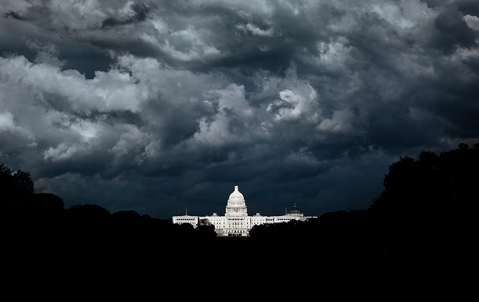 Storm at the Capitol