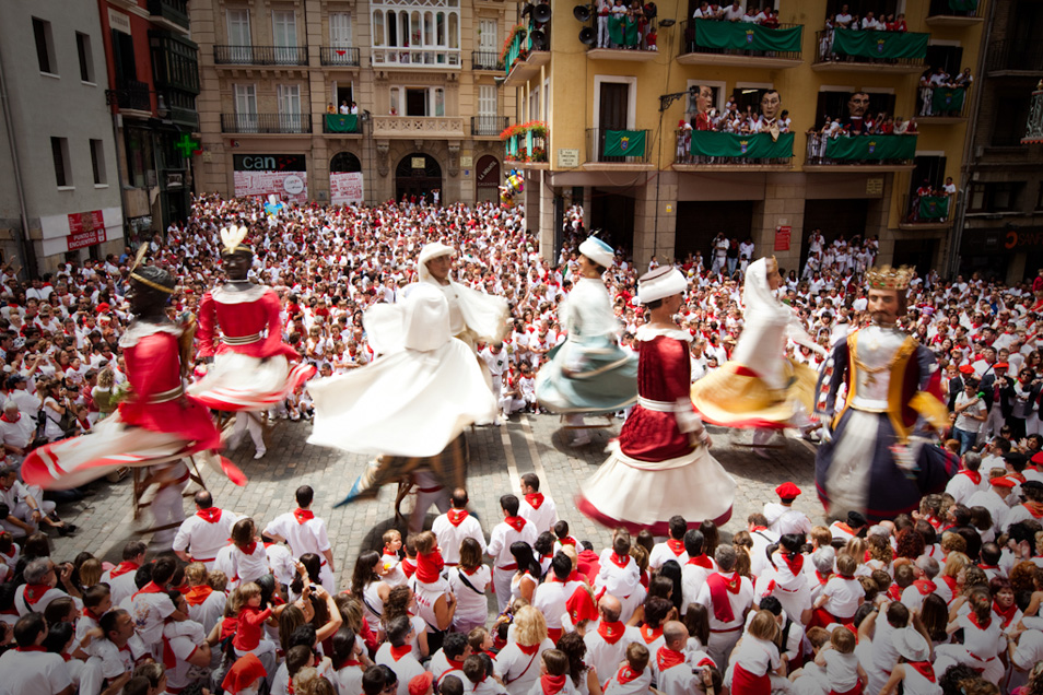 Puppets from Pamplona (4 photos)