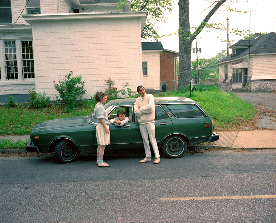 Portraits of William Eggleston (4 photos)
