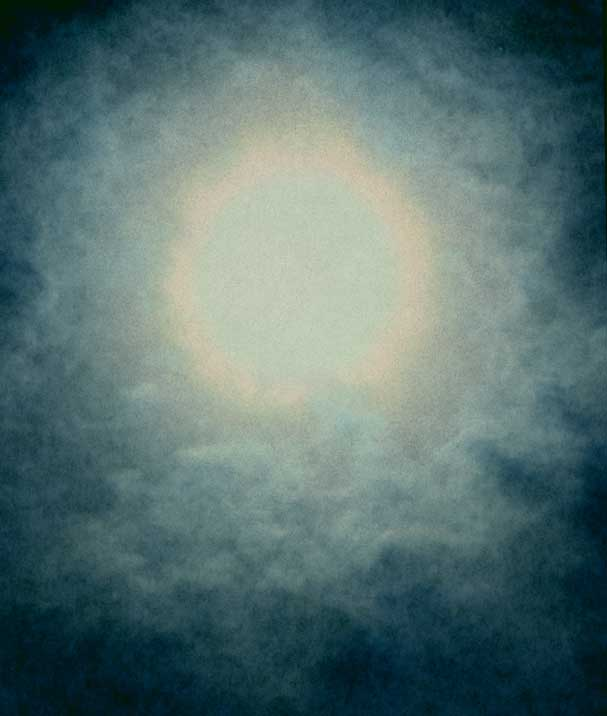 Looking Into the Sun (3 Photos)