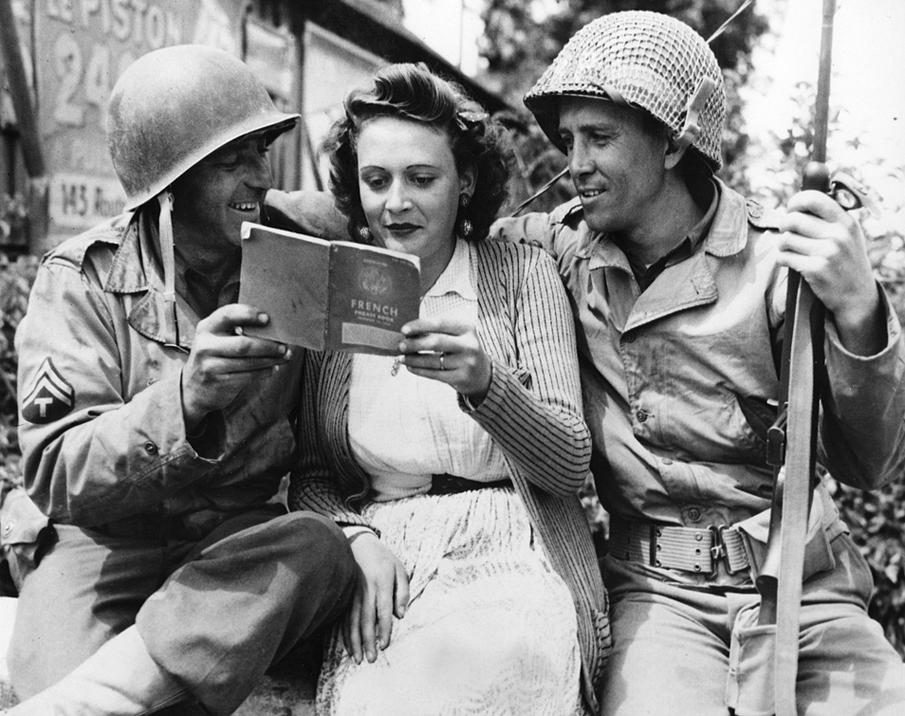 Yanks Learn Fast, 1944