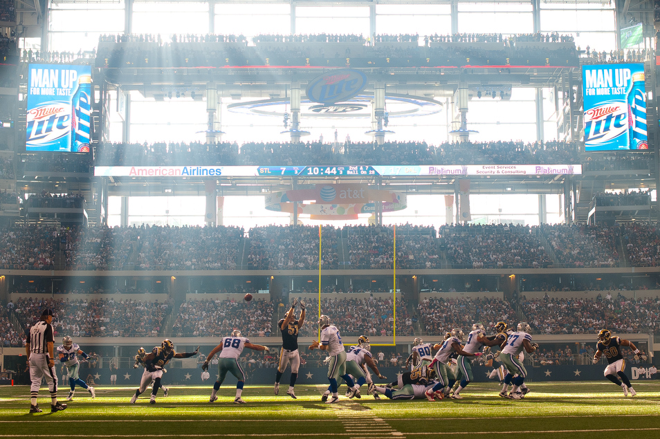 Image result for cowboys sun field