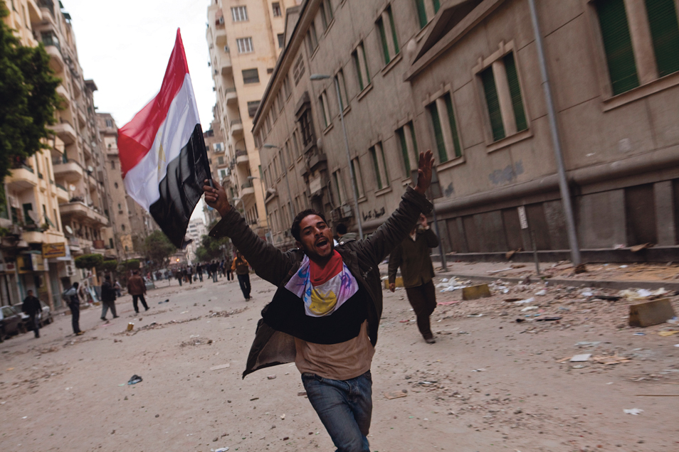 Ron Haviv: Tahrir Square One Year Ago (2 Photos)