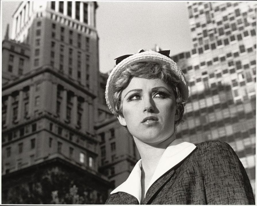 """Untitled Film Still #21. 1978."" The Museum of Modern Art, New York. Horace W. Goldsmith Fund through Robert B. Menschel © 2012 Cindy Sherman"