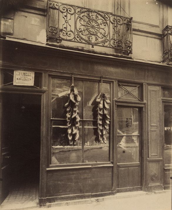 """Balcon, 17 rue du Petit-Pont,"" 1913. Courtesy of The Museum of Modern Art, New York. Abbott-Levy Collection. Partial gift of Shirley C. Burden."