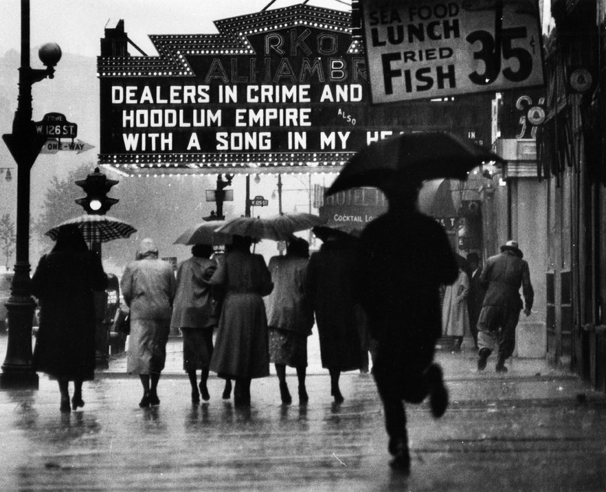Harlem Neighborhood by Gordon Parks