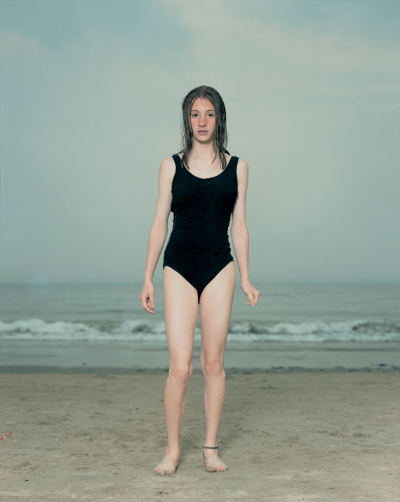 Beach Portrait Coney Island New York by Rineke Dijkstra