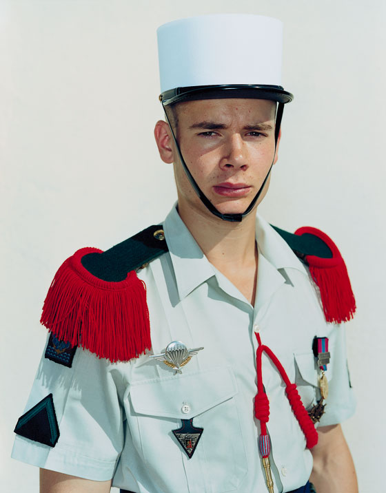 Olivier French Foreign Legion by Rineke Dijkstra
