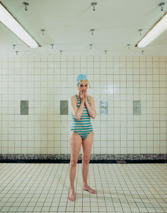 Rineke Dijkstra self portrait