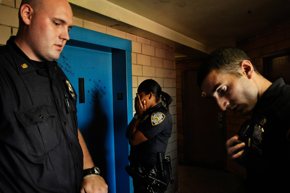 Trial by Fire in the NYPD (10 Photos)