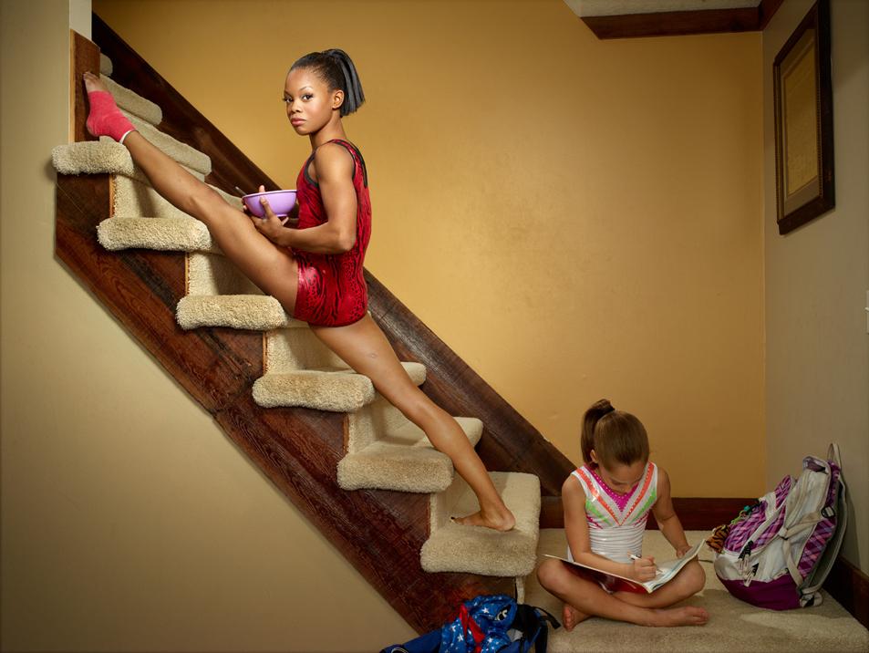 Gabby Douglas Olympic gymnast London 2012