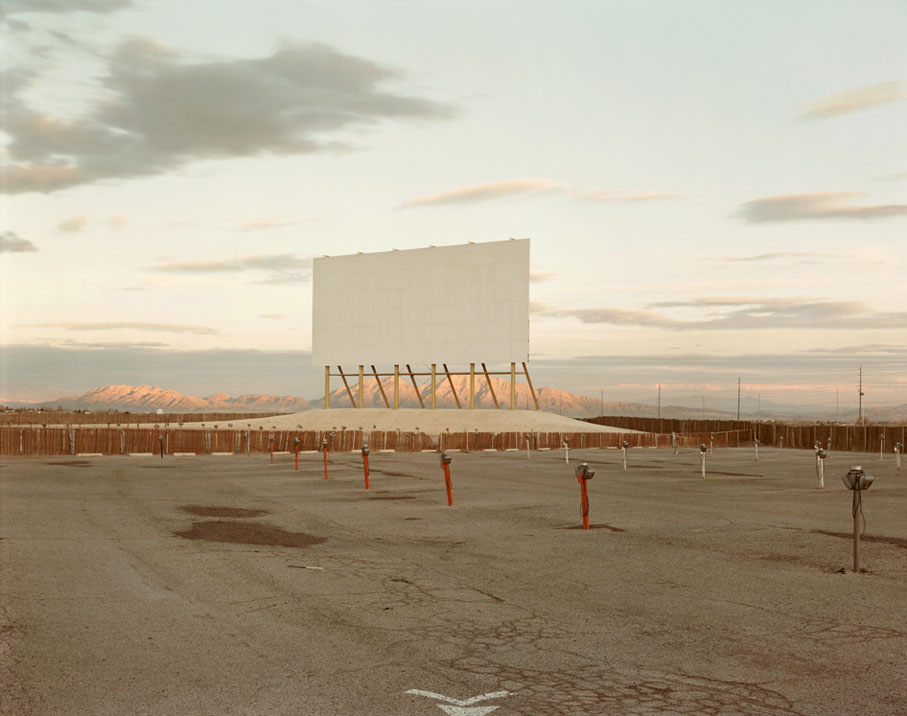 Richard-Misrach-Drive-In-Theatre,-Las-Vegas,-1987