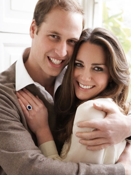 """HRH The Duke & Duchess of Cambridge, London,"" 2010.  © Mario Testino. From the exhibition ""British Royal Portraits"" by Mario Testino at the Museum of Fine Arts, Boston."