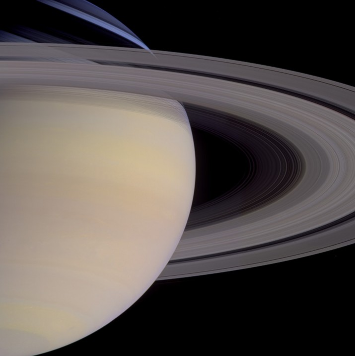 Portrait of Saturn during a southern hemisphere summer. Mosaic composite photograph. © NASA/JPL-Caltech/Michael Benson/Kinetikon Pictures