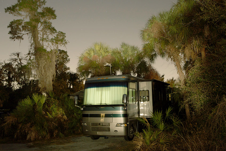 It Was a Dark and Scary Night in an RV (6 Photos)