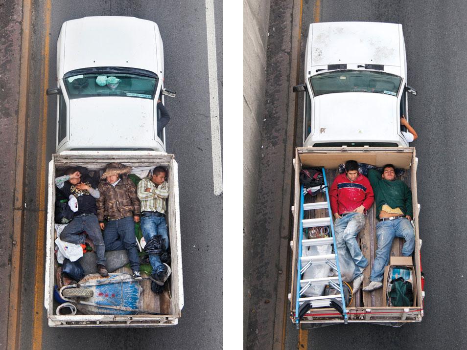 Alejandro Cartagena: Car Poolers (3 Photos)