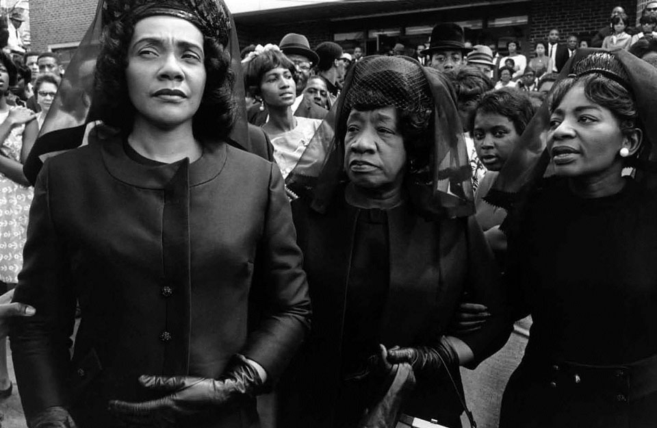 Pdn Photo Of The Day Leaving Church After The Funeral Of Martin